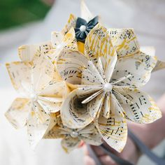 9 Brides Who Skipped the Fresh Flower Bouquet Whimsical Wedding, Diy Wedding, Wedding Flowers, Wedding Ideas, Wedding Stuff, Wedding Things, Funeral Flowers, Wedding 2015, Church Wedding