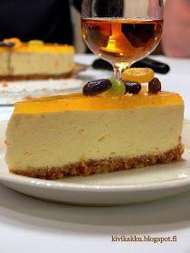 Pääsiäinen, jälkiruoka, juustokakku, appelsiinijuustokakku Cheesecake, Sweet, Desserts, Food, Cheesecake Cake, Tailgate Desserts, Deserts, Cheesecakes, Essen