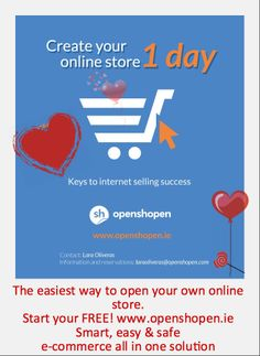 Just make love! Entrepreneurs love create your own online store! Just love it!