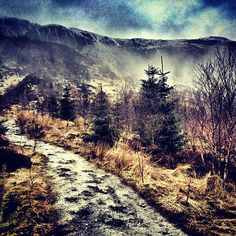 beautiful place for a Friday night hill run (via Arc'athlete Murray Strain)
