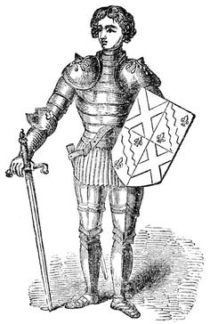 *2 pins  The Parts of a Medieval Knight's Suit of Armor were a complex series of garments, chain mail and iron plate. The pieces of a Knights Suit of Armor covered the most vulnerable parts of a knight's body.