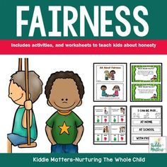 Fairness: Character Education and Social Skills Activities