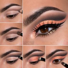 Gypsies look by beauty blogger Maryam Maquillage using Motives