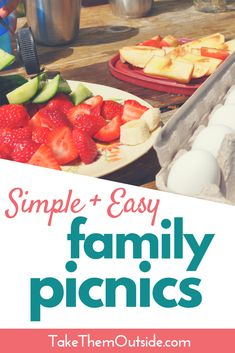 Easy Family Picnics are Simpler Than You Think Simple and easy family picnics do exist. Use quick grab and go kid friendly foods, skip the fancies, and bring along some outdoor activity ideas. Make family picnics easy to plan so you an Indoor Picnic, Backyard Picnic, Backyard For Kids, Best Picnic Food, Family Picnic Foods, Picnic Essentials, Portable Food, Outdoor Activities For Kids, Activity Ideas