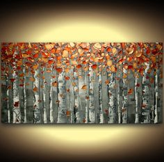 original art abstract painting acrylic oil by ModernHouseArt