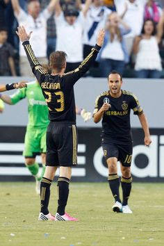 LA Galaxy beat Chivas USA in the second match of El Superclasico Landon Donovan, Sports Wall, Major League Soccer, Anaheim Ducks, San Diego Chargers, Just A Game, David Beckham, Way Of Life, Manchester United