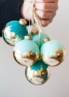 Make your own ornament to add a little more Christmas cheer to their tree! Courtesy of The Sweetest Occasion