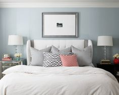 Bedroom Blue Coral Design, Pictures, Remodel, Decor and Ideas - page 3