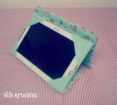Passo a passo:capa para tablet com suporte – Parte 2