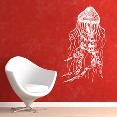 Jelly Fish 21x40 White, $34.95, now featured on Fab.