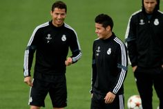 Cristiano Ronaldo Photos: Real Madrid Training and Press Conference