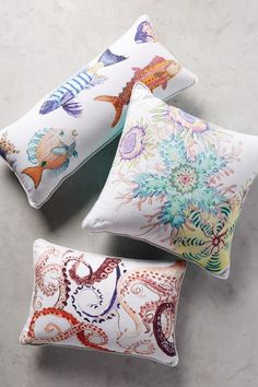 Neptune Pillow - anthropologie.com #anthrofave