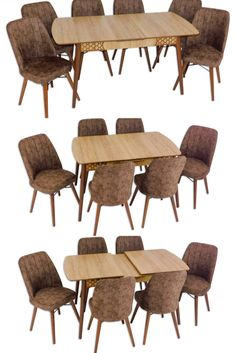 Wood Table, Dining Chairs, Furniture, Home Decor, Timber Table, Decoration Home, Room Decor, Dining Chair, Home Furnishings