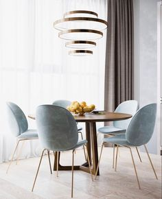 We all know furniture can make or break a room. With that in mind, today we're presenting the best of minimalist furniture pieces to add to your dining room without loosing that fabulous and extravagant feeling to it.