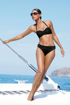 Black Shape Enhancing Swimwear