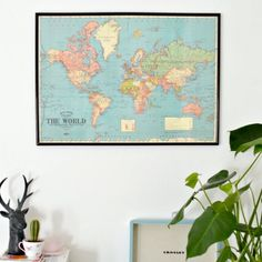 Cheat your way to affordable wall art; this is a great alternative to buying prints!