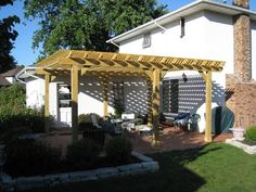 Shaded Open Structure over Patio - Design Ideas - Archadeck