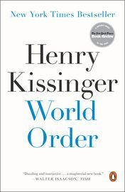 World Order | http://paperloveanddreams.com/book/828759655/world-order | �Dazzling and instructive . . . [a] magisterial new book.� �Walter Isaacson, TimeHenry Kissinger offers inWorld Ordera deep meditation on the roots of international harmony and global disorder. Drawing on his experience as one of the foremost statesmen of the modern era�advising presidents, traveling the world, observing and shaping the central foreign policy events of recent decades�Kissinger now reveals his analysis…