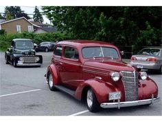 Dwight Black, Shuffletown, NC, USA has a 1939 Chevy, red, that he shows at antique car shows.  NOT this one but very similar, a Beautiful car!