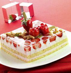 Ricetta Torta giardino di fragole