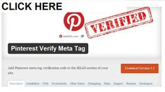 The simple way to verify your website on Pinterest