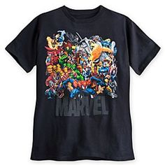 Disney Marvel Universe Tee for Men   Disney Store
