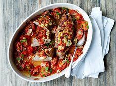 Spaghetti Bolognese, Mozzarella, Pasta, Frisk, Dessert Recipes, Desserts, Ratatouille, Lchf, Chicken Wings