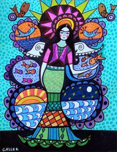 Mermaid Print  Mermaid Tree of Life Poster by HeatherGallerArt, $24.00