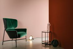 Caristo High Back Armchair by Tim Rundle
