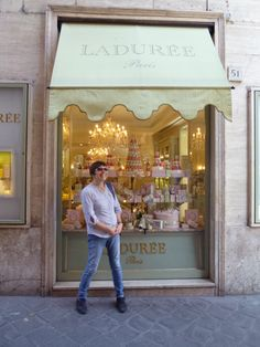 A French shop in Italy?
