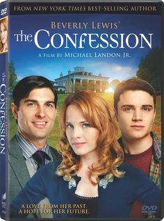 Beverly Lewis' The Confession DVD - a must have family friendly Hallmark movie!