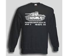 Pullover Panzerkampfwagen III / mehr Infos auf: www.Guntia-Militaria-Shop.de