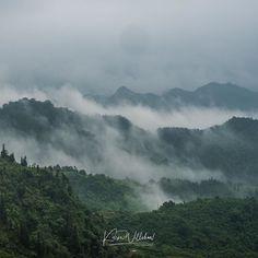 Misty mountain morn; Heavens Gate Ha Giang.  #travelling #travel #twitter #mountains #HaGiang #vietnam #photography #phototravel #olympus #olympus_au #olympusinspired #getolympus #em1mk #explore #wow #love #mist #nature #naturephotography #natgeotravel #scenic