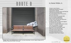 """Route 9"" by Martin Willitts, Jr.  Rattle's Ekphrastic Challenge, June 2015, Editor's Choice http://www.rattle.com/poetry/route-9-by-martin-willitts-jr/  Photo by Alisa Golden www.neverbook.com"