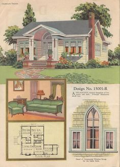 House plans, 1920s?.