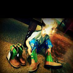 John Deere boots!