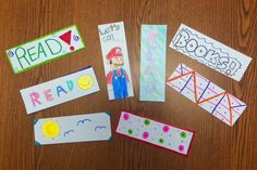 Bookmarks from Hamilton Elementary- Kellene Teaches