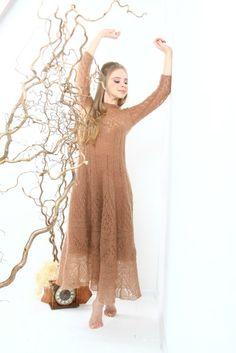 мохер платье