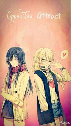 K  A  W  A  I  I Manga Yuri, Yuri Anime, Manga Anime, Anime Art, Citrus Anime, Xxxholic, Manga Pictures, Shoujo, Anime Couples
