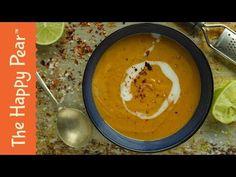 Sweet Potato & Lime Soup | VEGAN WINTER WARMER - YouTube