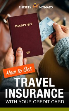 How to Get Travel Insurance With Your Credit Card - Thrifty Nomads Travel Advice, Travel Hacks, Travel Tips, American Express Platinum, Backpacking Tips, Free Things To Do, Credit Card Offers, Health And Safety, Money Saving Tips