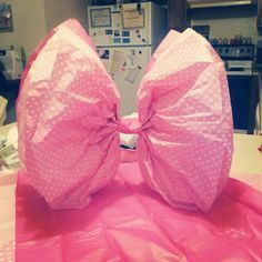 minnie mouse paper tissue bows - Google Search