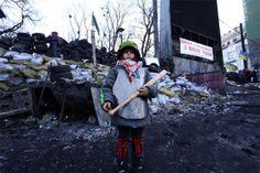 Революція очима фотографа. Ганна Грабарська | Українська правда _Життя