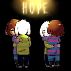 [Undertale] Hope by RebeccaMetroStory.deviantart.com on @DeviantArt