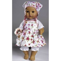 Puppenkleider, Burda 8308