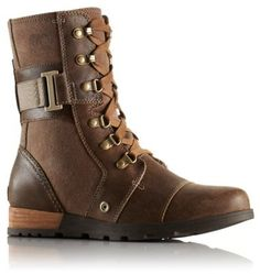 SOREL™ Major Carly Lederstiefel für Damen | SOREL