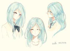 "Genderbend-Kuroko Tetsuya - deviantart ""Knb: Milk and Honey"" by Califlair"