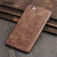 TUKE Luxury Vintage Genuine Leather Case for BBK VIVO X9 Real Cow Leather Case Cover Matte Hard Housing for VIVO X 9 Phone Bags #Affiliate