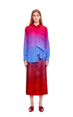 Sander Silk Dégradé Shirt