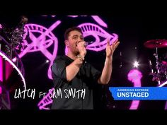 Disclosure - Latch (Live) | #AmexUNSTAGED Concert ft. Sam Smith - YouTube